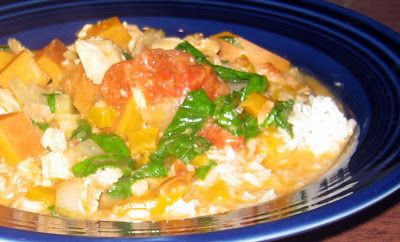 ... Peanut Stew with Chicken, Spinach & Sweet Potatoes | The Spiced Life
