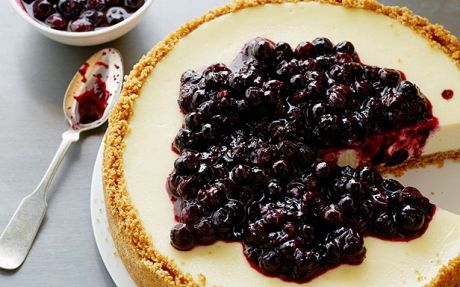 ... Cheesecake by Tyler Florence (Berries, Blueberry) @FoodNetwork_UK