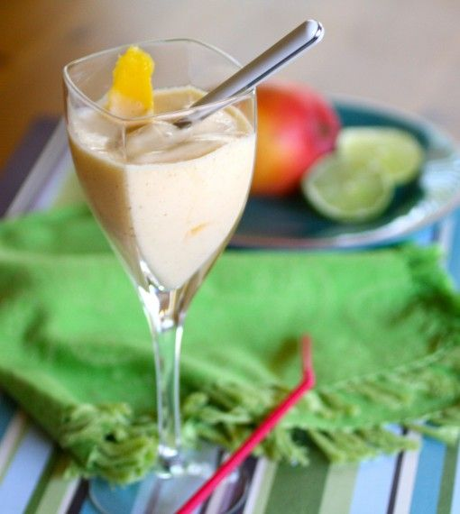 Mango, Chile and Lime Shake | Drinks and Frozen Treats | Pinterest