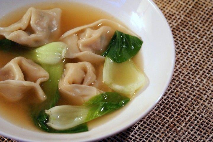 Wonton Soup with Bok Choy | CSA Recipes | Pinterest