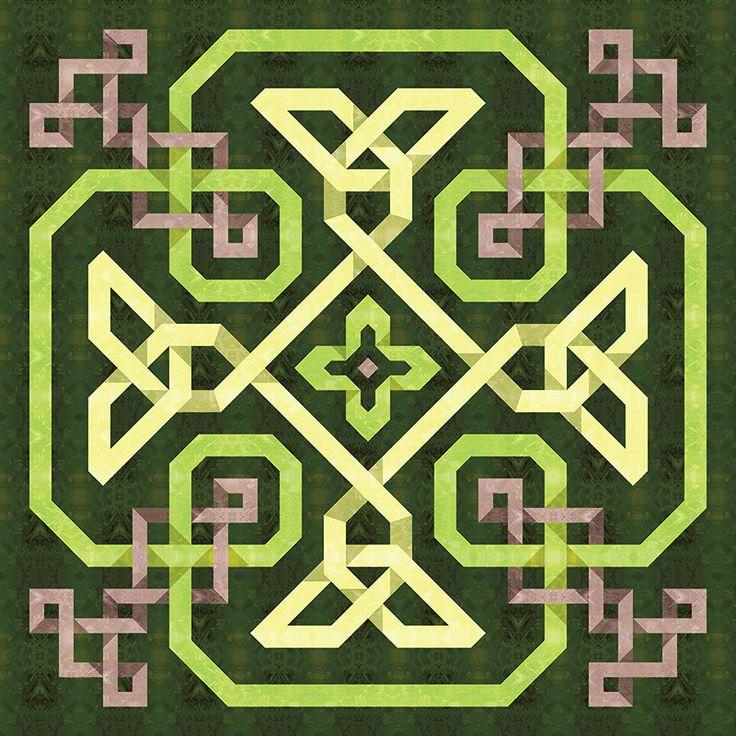 Celtic Knot Quilt Celtic Quilt Patterns Pinterest