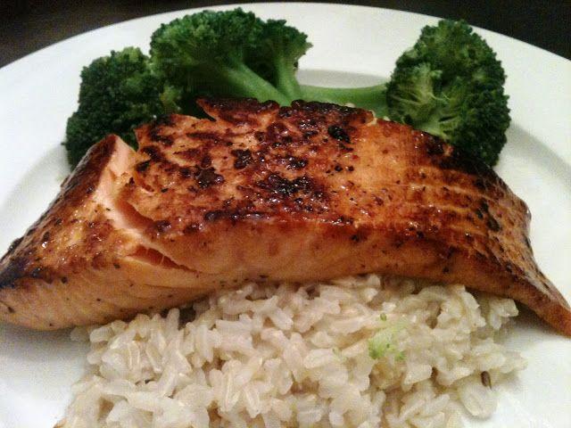 Soy-Ginger Glazed Salmon. | Food | Pinterest