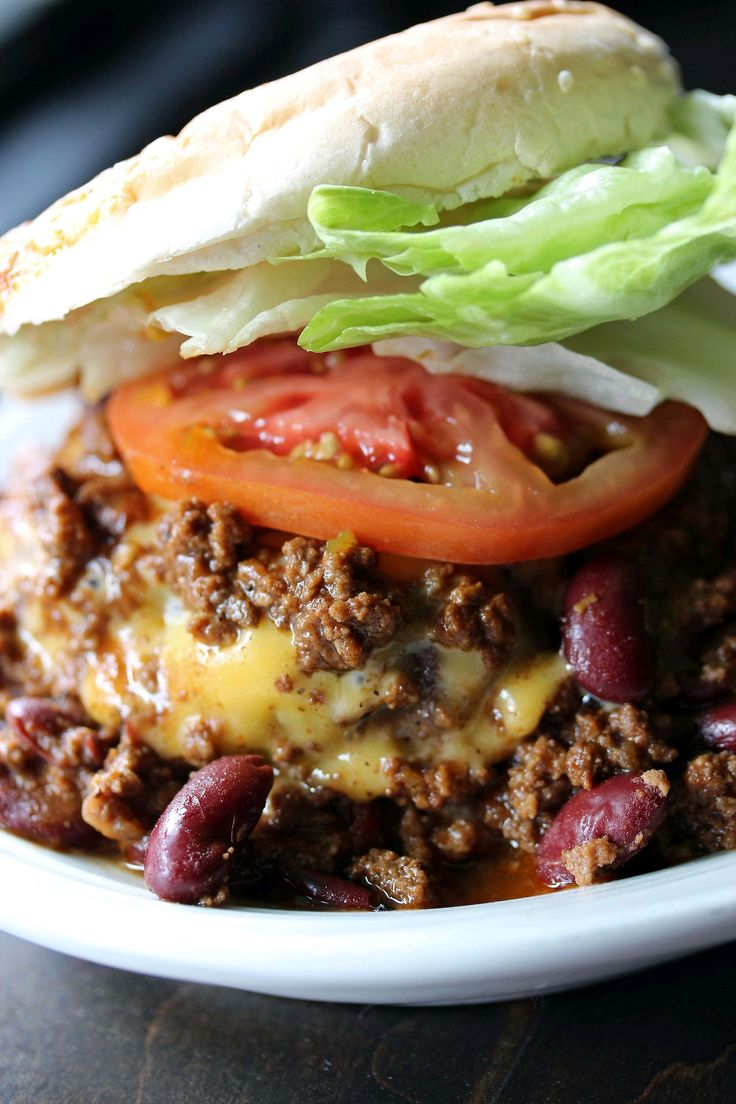 Chili Burgers Recipe — Dishmaps