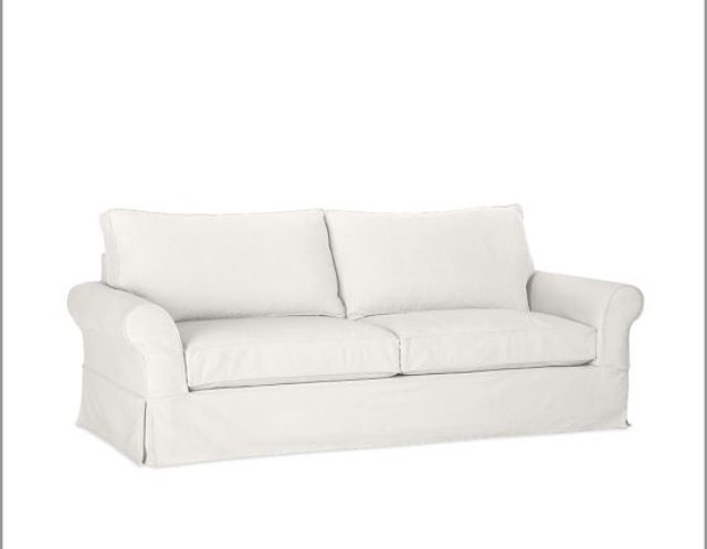 Slipcover Sofa White Future Home Pinterest