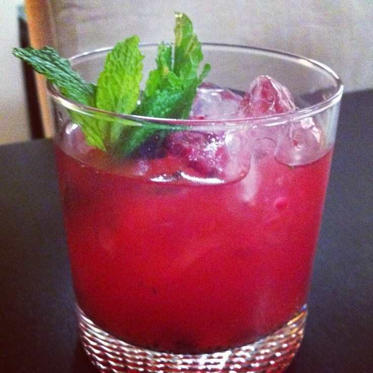 Raspberry Mojito | Cocktails | Pinterest