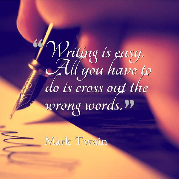 mark twain on writing Mark my words: mark twain on writing by dawidziak, mark, twain, mark and a great selection of similar used, new and collectible books available now at abebookscom.