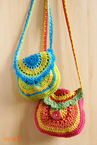 Circle crochet bag Crochet Pinterest