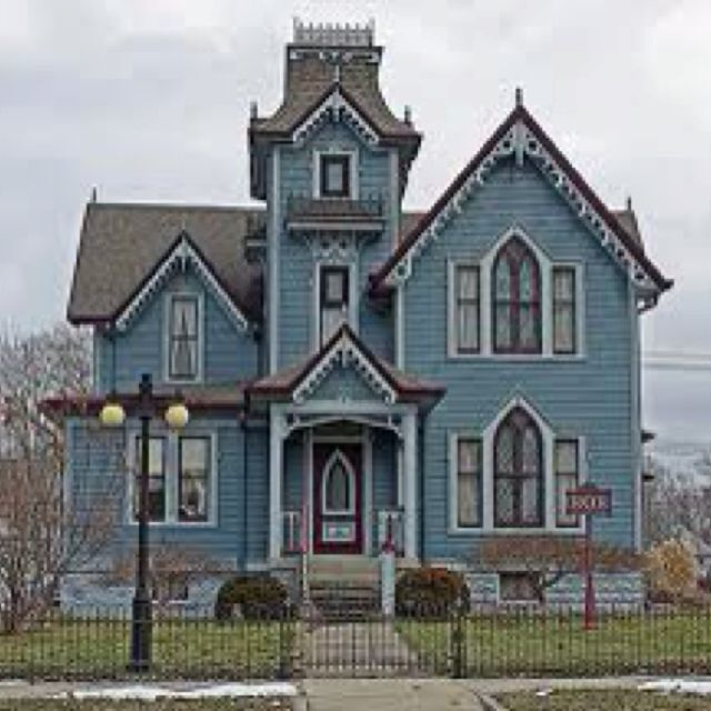 Victorian style home  Home Sweet Home  Pinterest