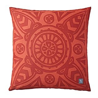 Poppy Scarf Print Outdoor Pillow | Serena & Lily