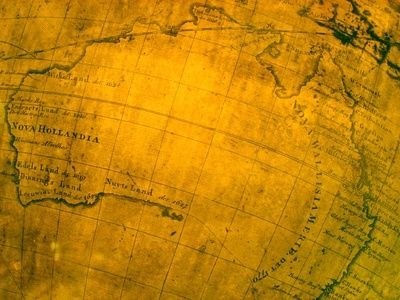 How to Antique or Age a Map