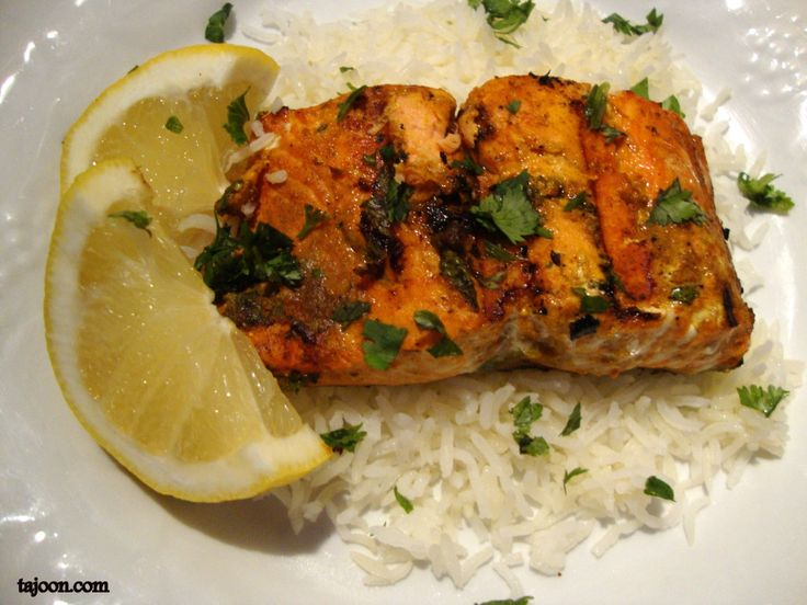 Grilled Moroccan Salmon | Fish | Pinterest