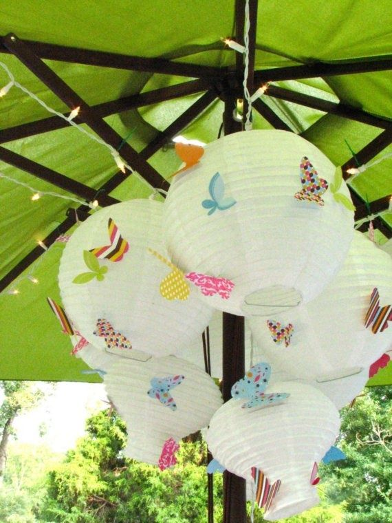 Paper lantern decorating ideas 3 party ideas pinterest for Chinese lantern ideas