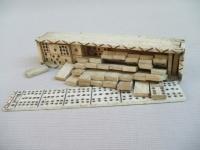 Napoleonic French POW domino box c.1815
