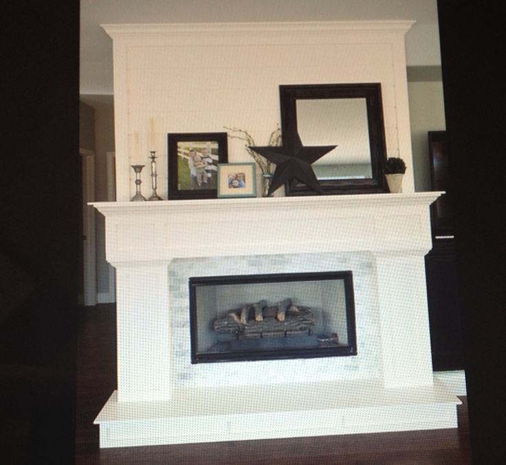 Two Sided Fireplace Design Room Ideas Pinterest