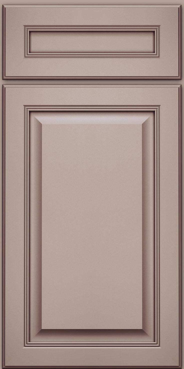 Solid (KGM) Maple in Pebble Grey w Cocoa Glaze  KraftMaid Cabinetry