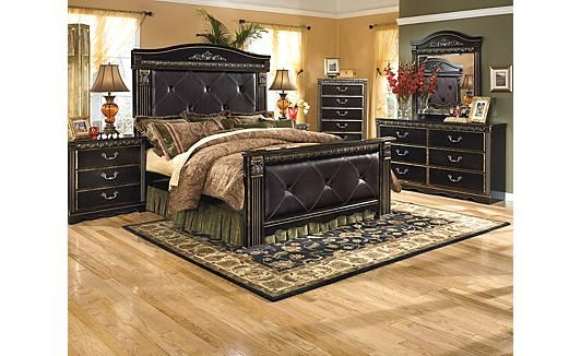 coal creek mansion bedroom set home is where the heart