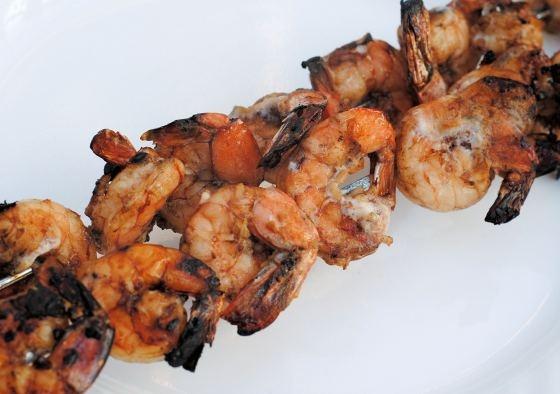 Marinated grilled shrimp | Delicious Food/ Desserts | Pinterest