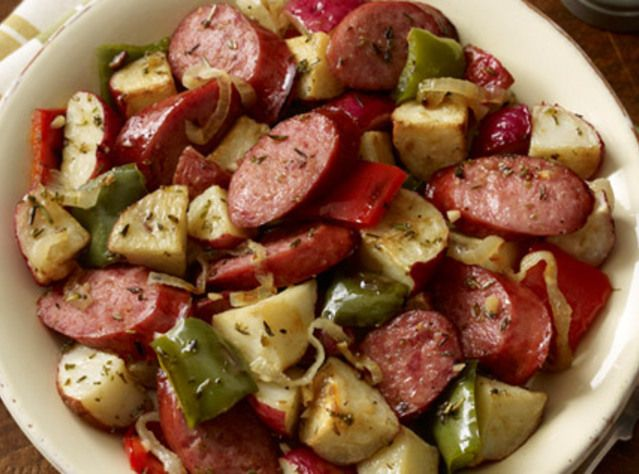 Summer Vegetables With Sausage And Potatoes Recipes — Dishmaps
