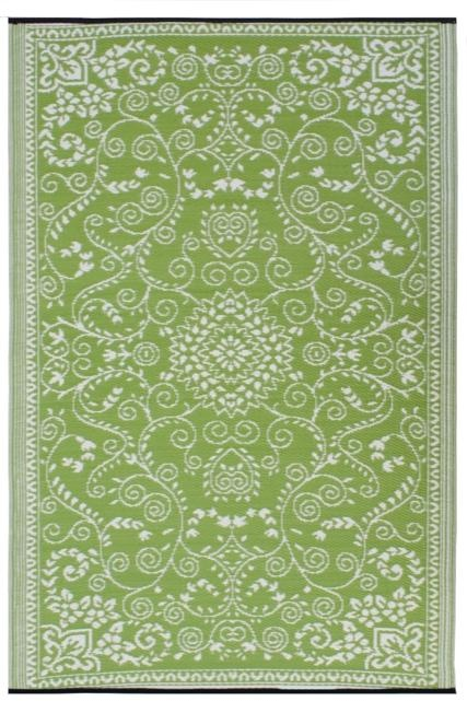 rug from recycled plastic 4 x 6 $48