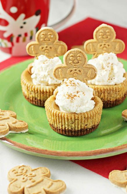 Gingerbread Cheesecakes | Desserts | Pinterest