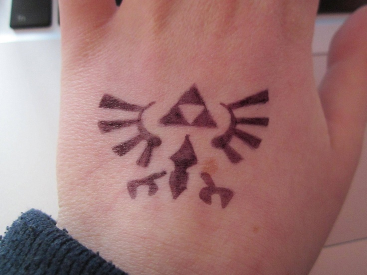 Zelda Triforce Tattoo Designs