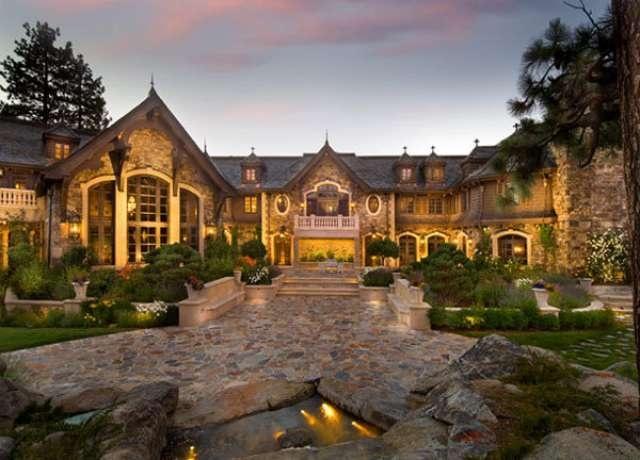 100 Million Dollar Home In Lake Tahoe Exterior Pinterest