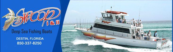 Deep sea fishing party boats in destin florida vacation