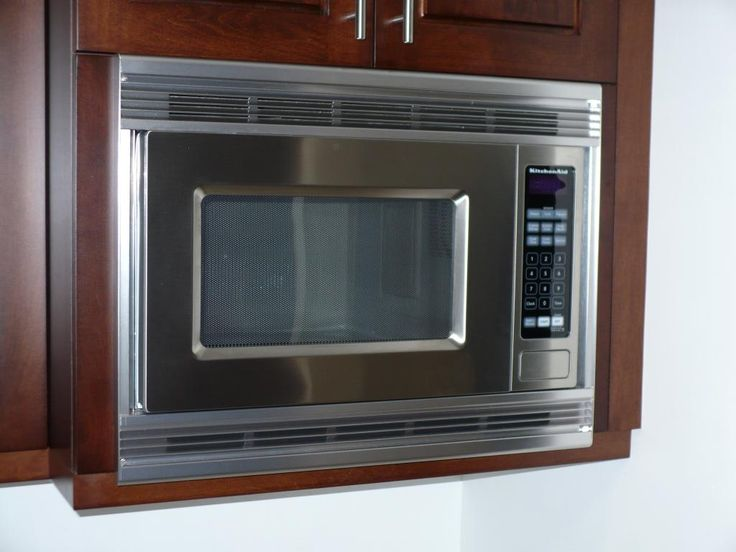 Quick fixes built in microwave kitchen upgrade pinterest for Microwave ovens built in with trim kit