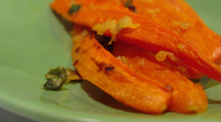 Paleo Ginger Glazed Carrots, A Perfect Complement to Asian Entrées
