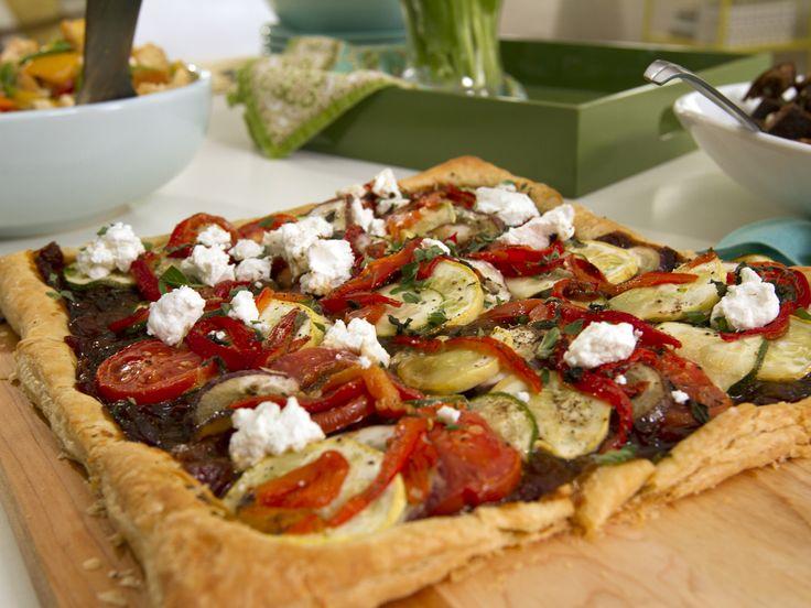 Ratatouille Tart with Caramelized Onion-Tomato Jam from ...