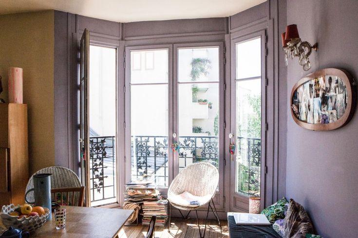 Freunde von Freunden — Céline Saby — Designer, Atelier and Apartment, 20ième arrondissement, Paris — http://www.freundevonfreunden.com/inter...