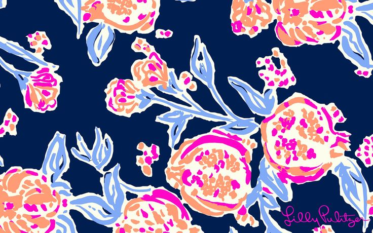 pom poms desktop wallpaper lilly pulitzer prints pinterest