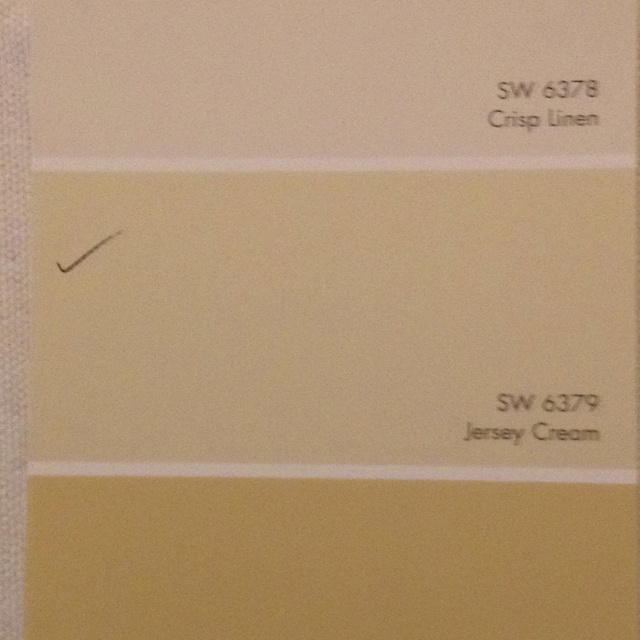 Jersey cream 6379-sherwin Williams Cabinet Coat - for kitchen cabinets