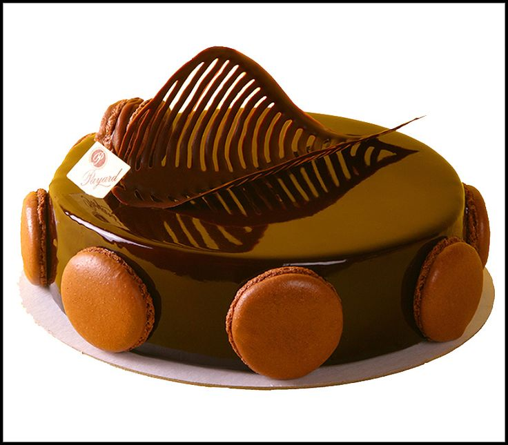 Cake - Louvre Cake - A duo of chocolate and hazelnut mousse ...
