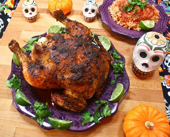 Mexican Spiced Roast Chicken