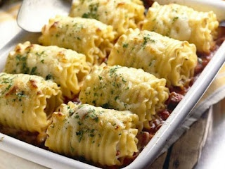 chicken and cheese lasagna roll-ups. | Food & Drink | Pinterest