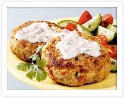 Indian-Spiced Turkey Burgers are light and delicious! # ...