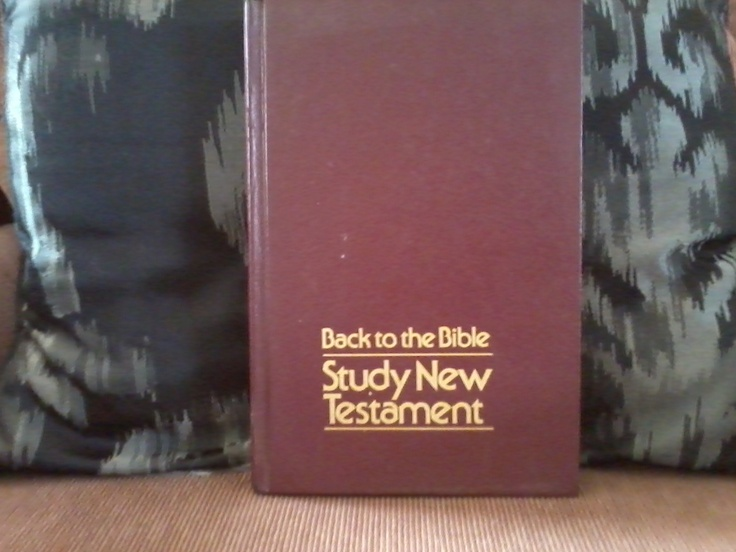 Back to the bible study new testament bibles pinterest