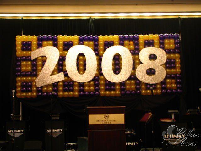 Balloon Wall - New Years