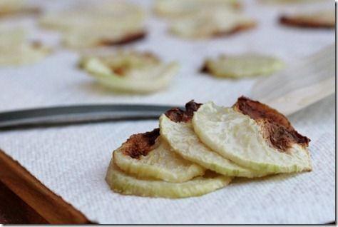 Baked Kohlrabi Chips. | Food Glorious Food | Pinterest
