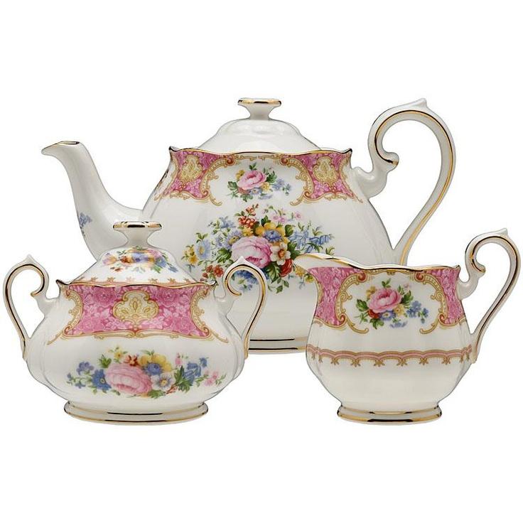 Lady Carlyle Tea Set