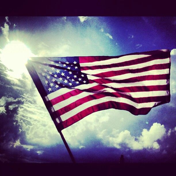 d day american flag