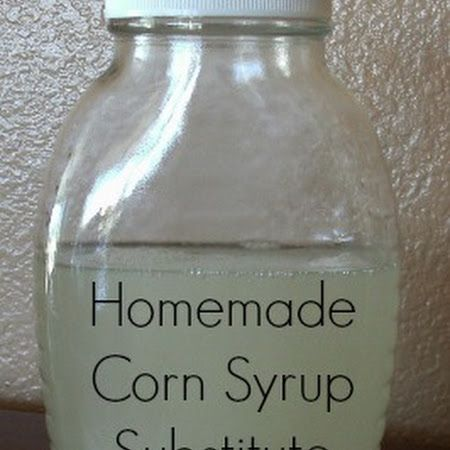 substitute for corn syrup