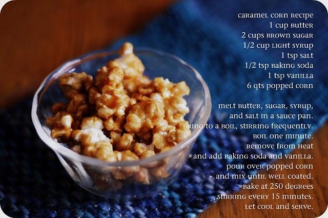 Caramel Corn... | Caramel and Apples | Pinterest