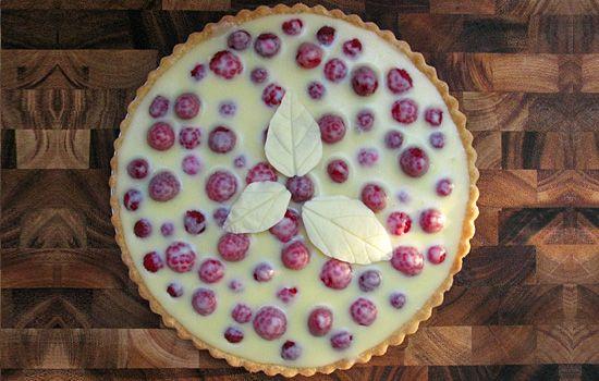 White Chocolate Raspberry Tart   Baking/Sweets/Snacks   Pinterest