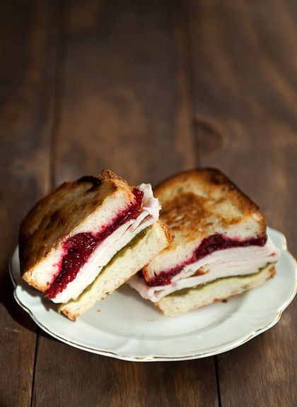 turkey cranberry green chile sandwich recipe | use real butter: French ...