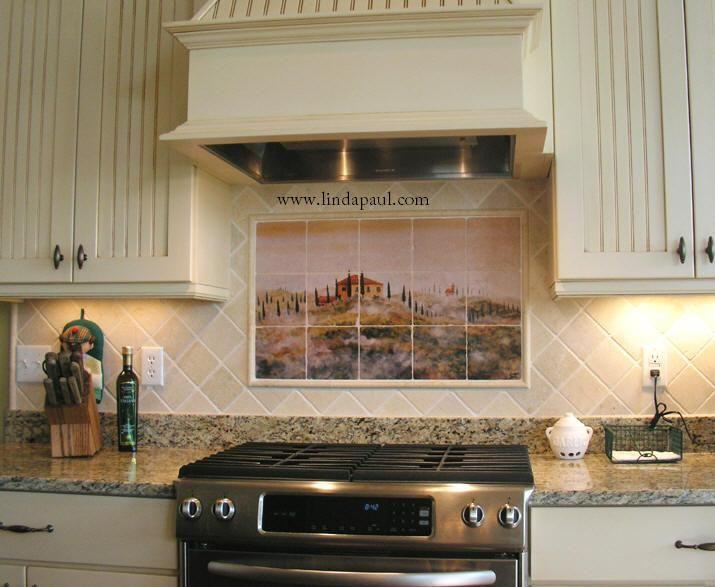 Tuscany Backsplash Tiles Kitchen Ideas Pinterest