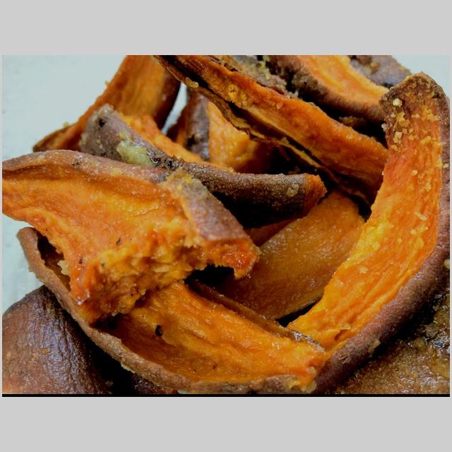 Roasted sweet potato wedges | Food | Pinterest