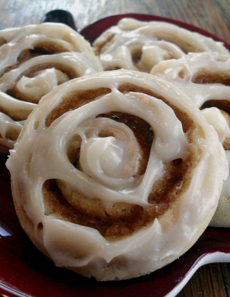 Cinnamon Roll Sugar Cookies | ♡ Dessert Paradise ♡ | Pinterest