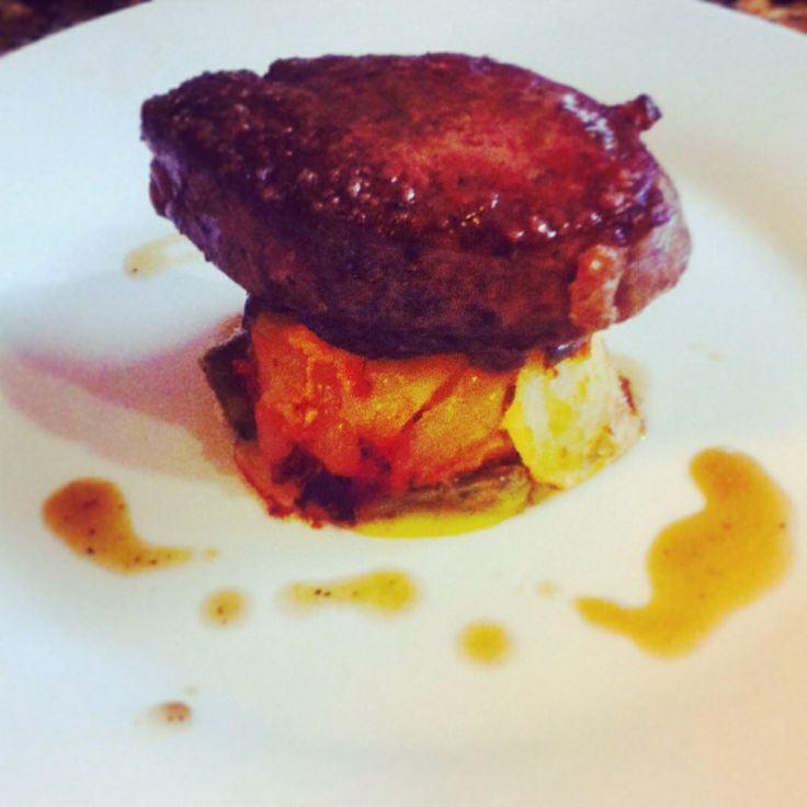 filet mignon with blue cheese chive butter pepper crusted filet mignon ...